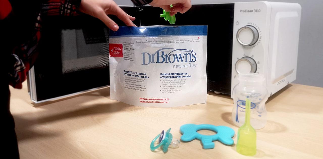 Bolsas para esterilizar Dr. Brown's