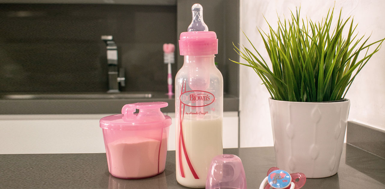 Dispensador leite em pó Dr. Brown's