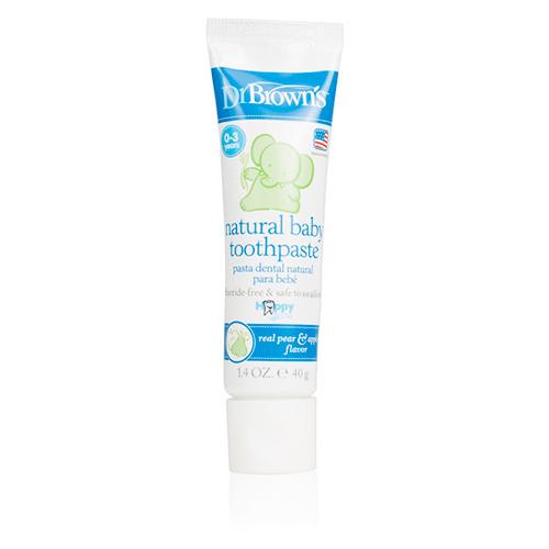Pasta de dientes natural de 0 a 3 años
