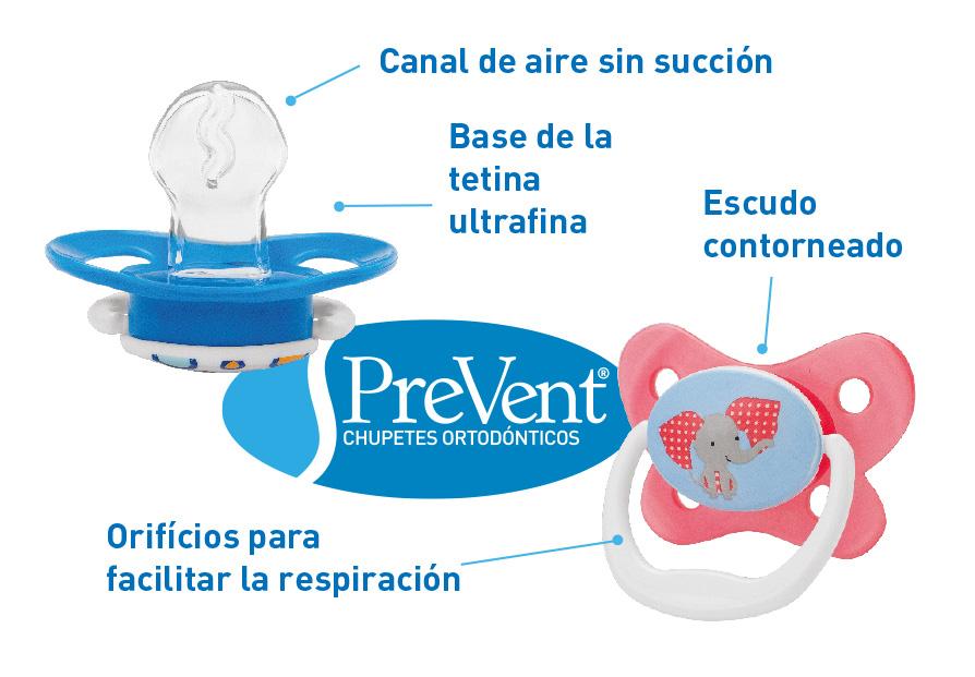 Chupetes prevent